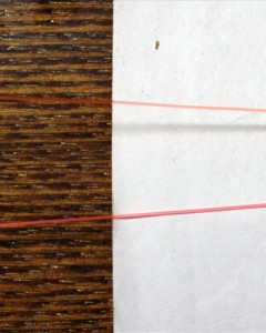 Шнур Level line (оранжевый матовый)